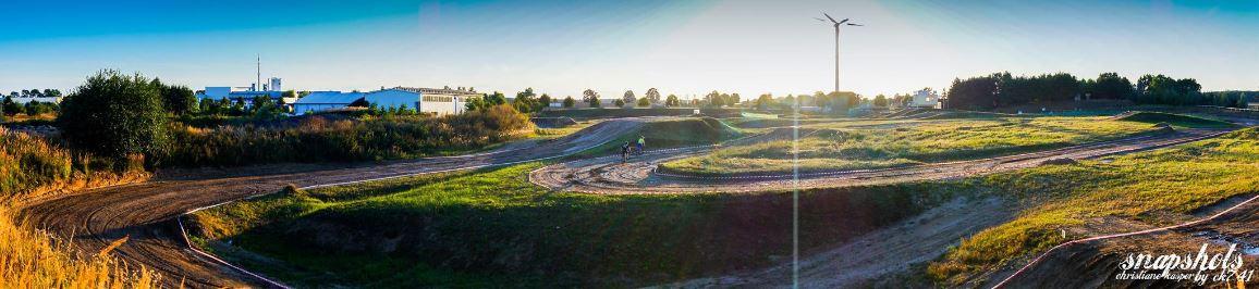 Motocross Malchow - Foto aus dem hinteren Fahrerlager des MCEC Malchow